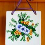 Spring Flowered Wall Art